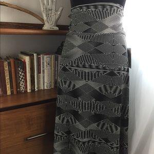 NWT Lularoe Azure Skirt Large Geometric Print